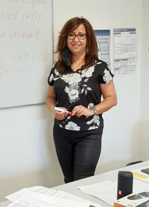 Latifa B., trainer
