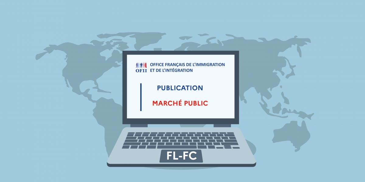 image mis en avant de L'OFII renouvelle ses marchés CIR (formation linguistique et civique, positionnement et certification linguistique)