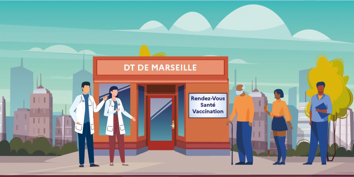image mis en avant de La vaccination gratuite pour les migrants à Marseille